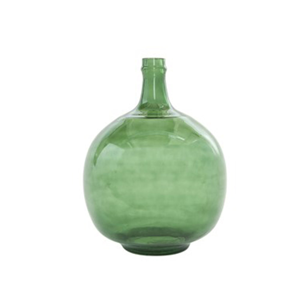 Vintage Reproduction Glass Bottle Vase - 13