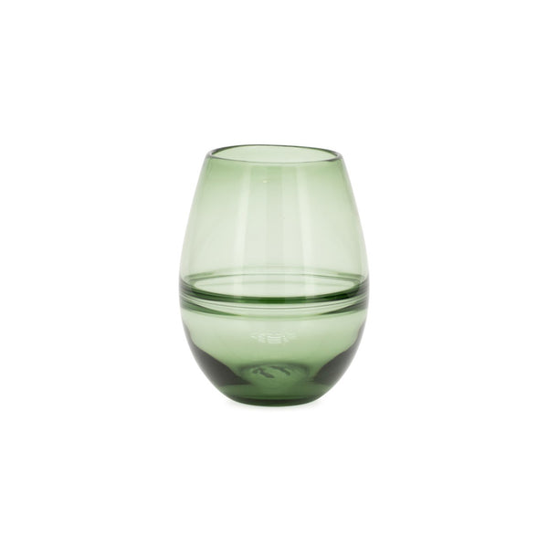 Saturn Ring Glass Bullet Vase - 9