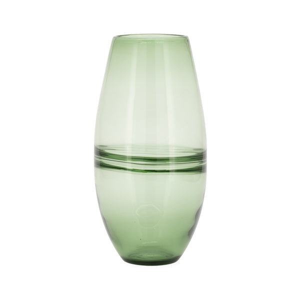 Saturn Ring Glass Bullet Vase - 14