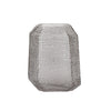 Soto Angle Cut Glass Etched Vase - 8