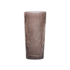 Aspen Bark Glass Vases- Smoke - Tall