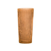Aspen Bark Glass Vase - Amber - Large
