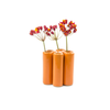 Puzzle Pooley Vase - Orange