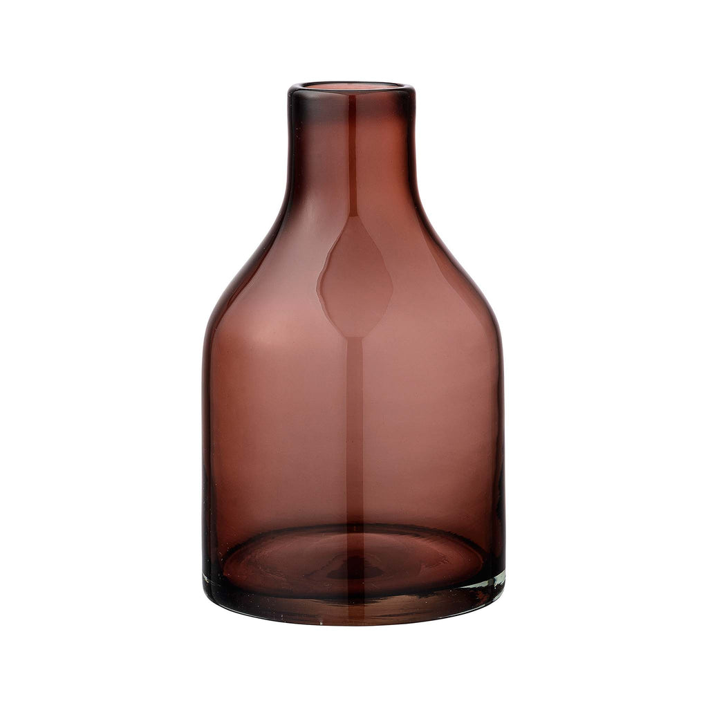 Glass Vase - Wine
