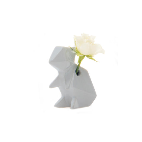 Rabbit Vase - Grey