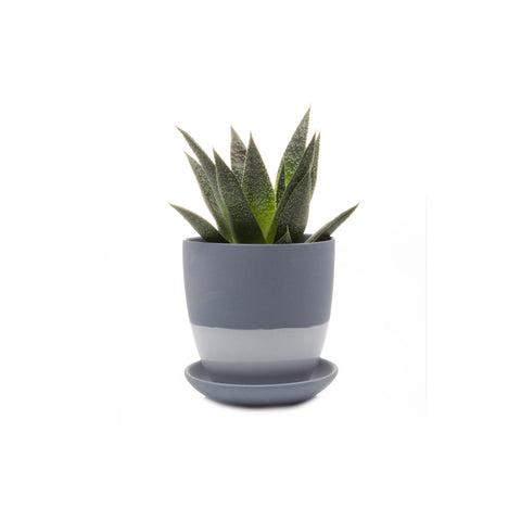 Dyad Planter - Blue Grey