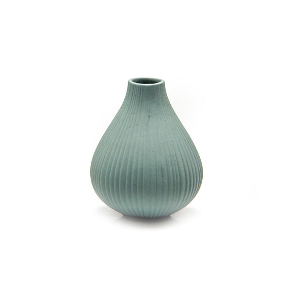 Frost Vase - Peacock