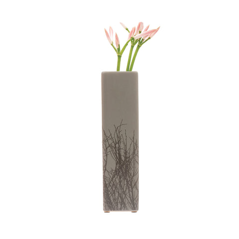 Tree Vase - Square Grey