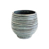 Terrcotta Striped Planter