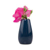 Palette Egg Bud Vase - Midnight with bud