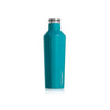 Corkcicle Canteen - 16 oz - Biscayne Blue - side view