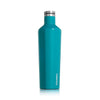 Corkcicle Canteen - 25 oz - Biscayne Blue - side view