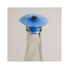 Silicone Poppy Bottle Stopper - Blue Palantinate