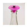 Silicone Poppy Bottle Stopper - Purple Orchid