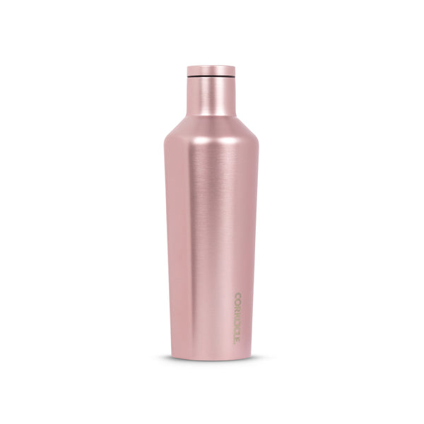 Corkcicle Canteen - 25 oz - Rose Metallic