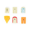 Cheese Please Drink Charms Set of 6