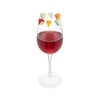Cheese Please Drink Charms Set of 6 - on glass
