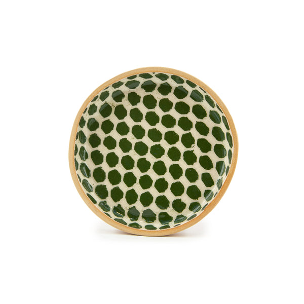 Terrafirma Wine Coaster - Pine Dot