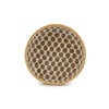 Terrafirma Wine Coaster - Mocha Dot