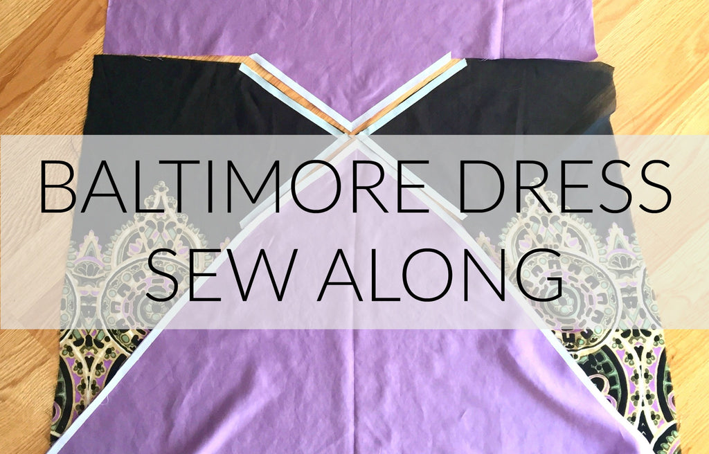 New 1920s Pattern: Baltimore Dress Sew Along