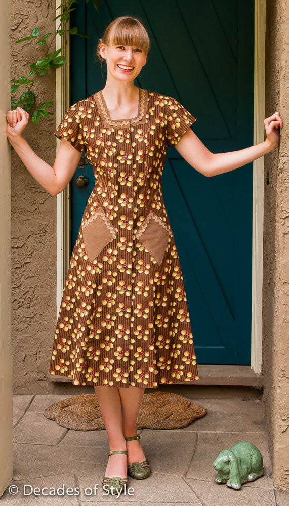 1940s Style House Dress Home Design And Style