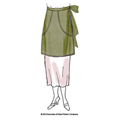 #2002      1920s Clothes-Pin Apron