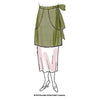 illustration for vintage sewing pattern for 1920s Clothes-Pin Apron from Decades of Style