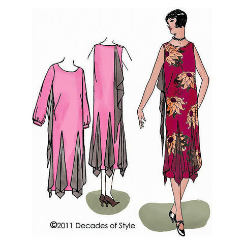 5523163c5de 1920s Sewing Patterns – Decades of Style Pattern Company