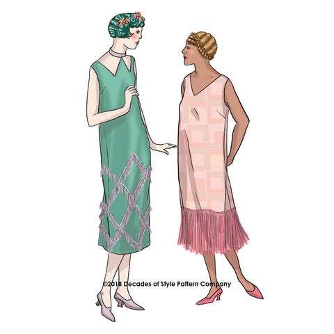 60s Sewing Patterns Decades Of Style Pattern Company Enchanting 1920s Dress Patterns