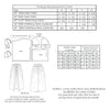 technical info for 1920s sewing pattern for shirred cloak from Decades of Style