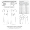 technical info Vintage pattern for 1930s Dress with raglan sleeves from Decades of Style
