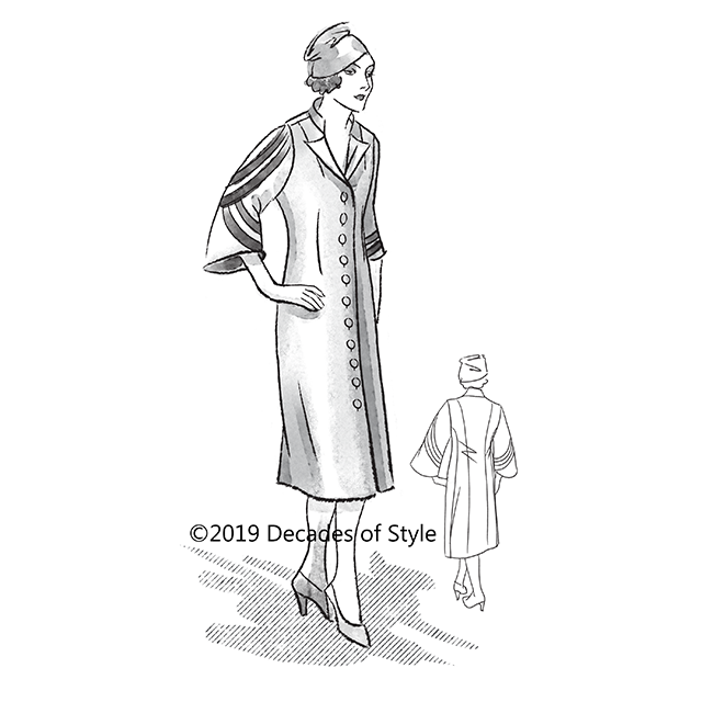 3016    1930s Miss L's Coat Dress