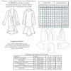 technical infor for Vintage sewing pattern for 1930s couture coat from Decades of Style