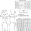 technical info for 1930s vintage patterrn for Cowl neck blouse from Decades of Style