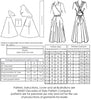 technical info for 1940s Siren Sundres pattern