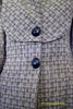 photo detail of 1940s Claremont Coat pattern