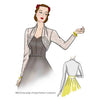 illustration for Vintage sewing pattern for 1940s bolero from Decades of Style Pattern Company