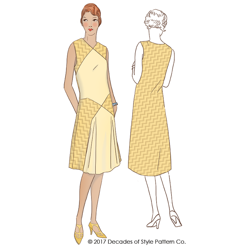 60 60s Baltimore Dress Decades Of Style Pattern Company New 1920s Dress Patterns