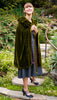 photo front view of 1920s sewing pattern for shirred cloak from Decades of Style #2701