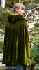 photo back view of 1920s sewing pattern for shirred cloak from Decades of Style
