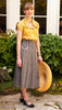 photo front view of 1950s Gourmet Skirt sewing pattern from Decades of Style