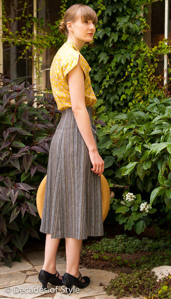 1950s Gourmet Skirt For New Look Style 5004 Decades