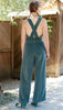 photo full back view of Vintage sewing pattern for 1930s Overalls with sweetheart neckline from Decades of Style