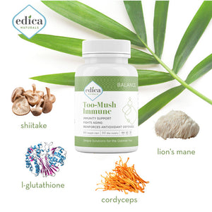 Too-Mush Immune Ingredients