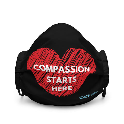 Compassion Starts Here - Premium face mask