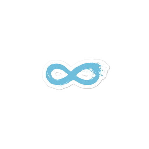 Infinity Logo Sticker
