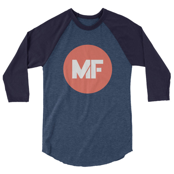 Mental Floss 3/4 sleeve raglan shirt