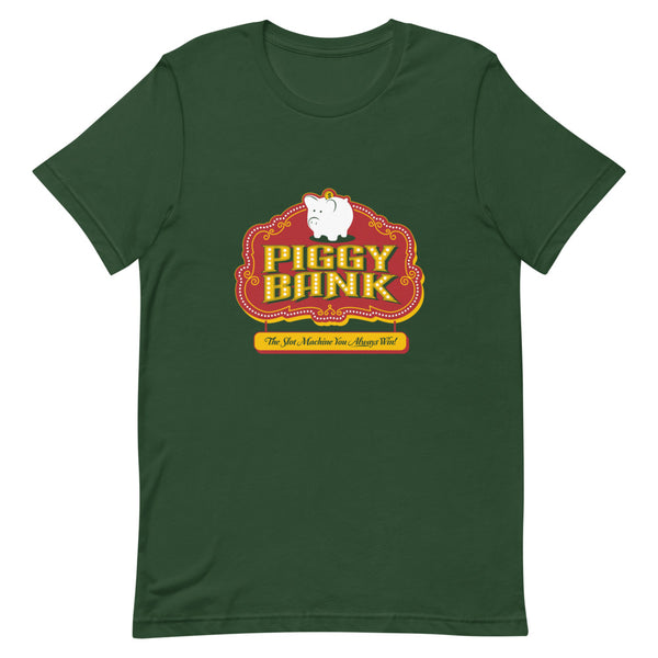 Piggy Bank Short-Sleeve Unisex T-Shirt