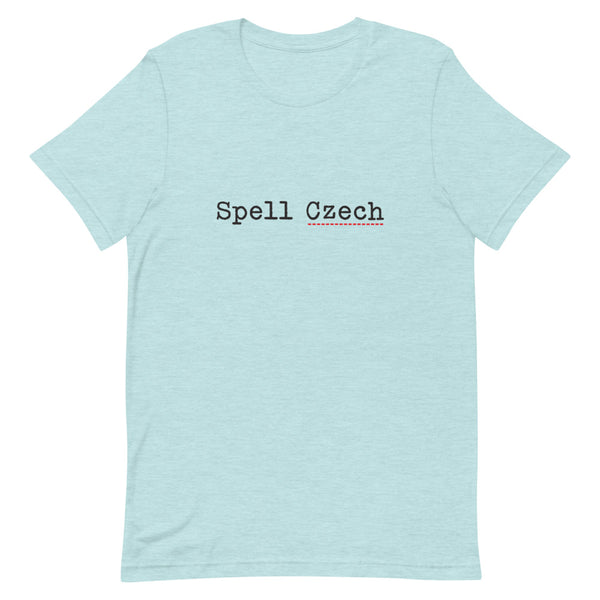 Spell Czech Short-Sleeve Unisex T-Shirt