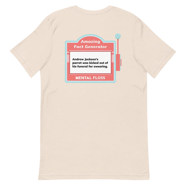 Mental Floss 20th Anniversary Fact 5.0 Short-Sleeve Unisex T-Shirt